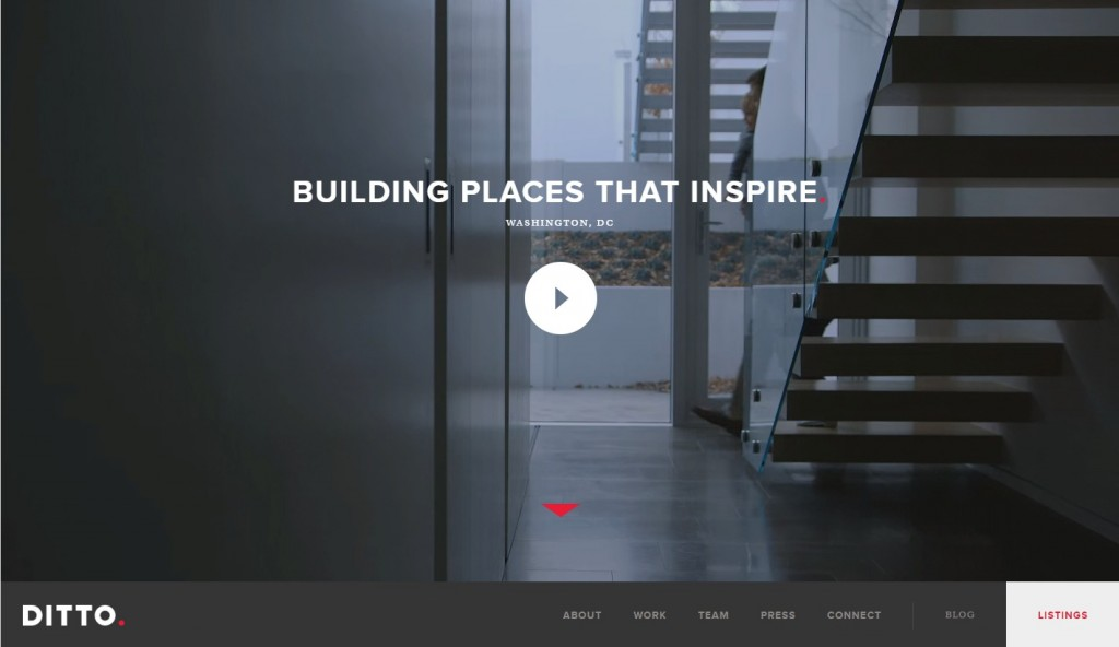 Background Video - Web Design Trends - Ditto Residential