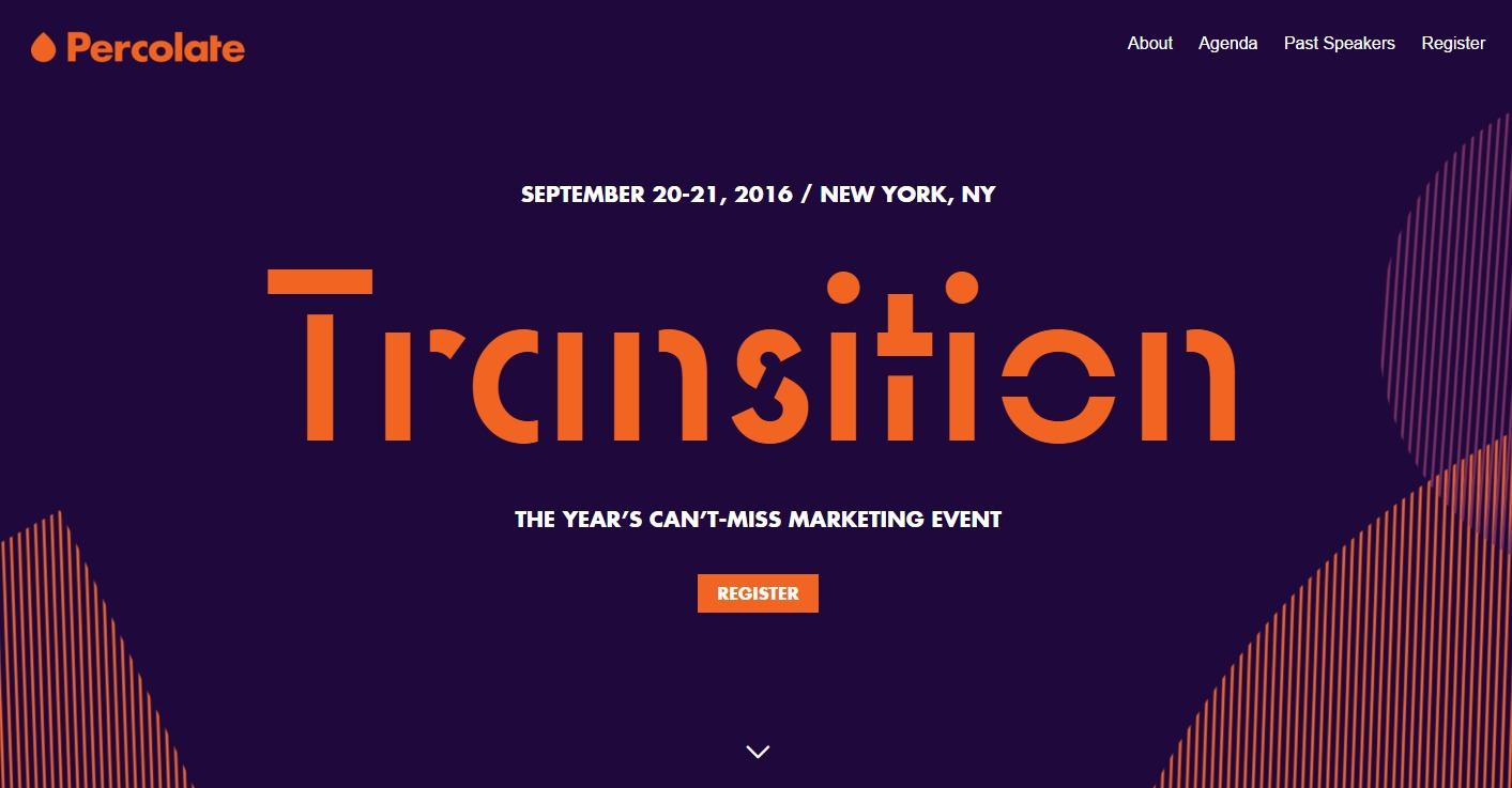 Content Marketing Conference_Transition Percolate