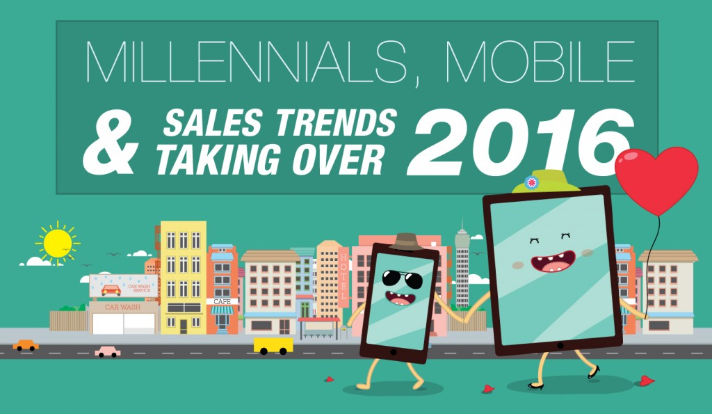 Millennials, Mobile and Sales Trends Taking Over in 2016