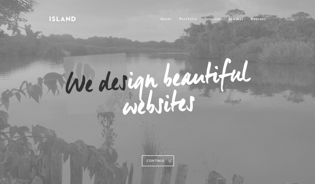 Typography - Web Design Trends - We Are Island