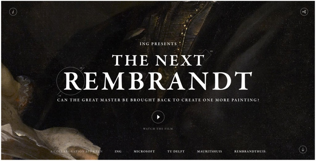 Motion Animation - Web Design Trends - The Next Rembrandt