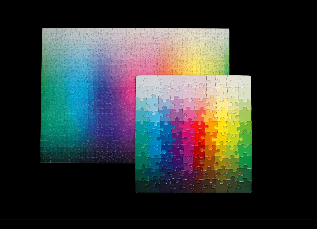 1000 Colours CMYK Jigsaw Puzzle
