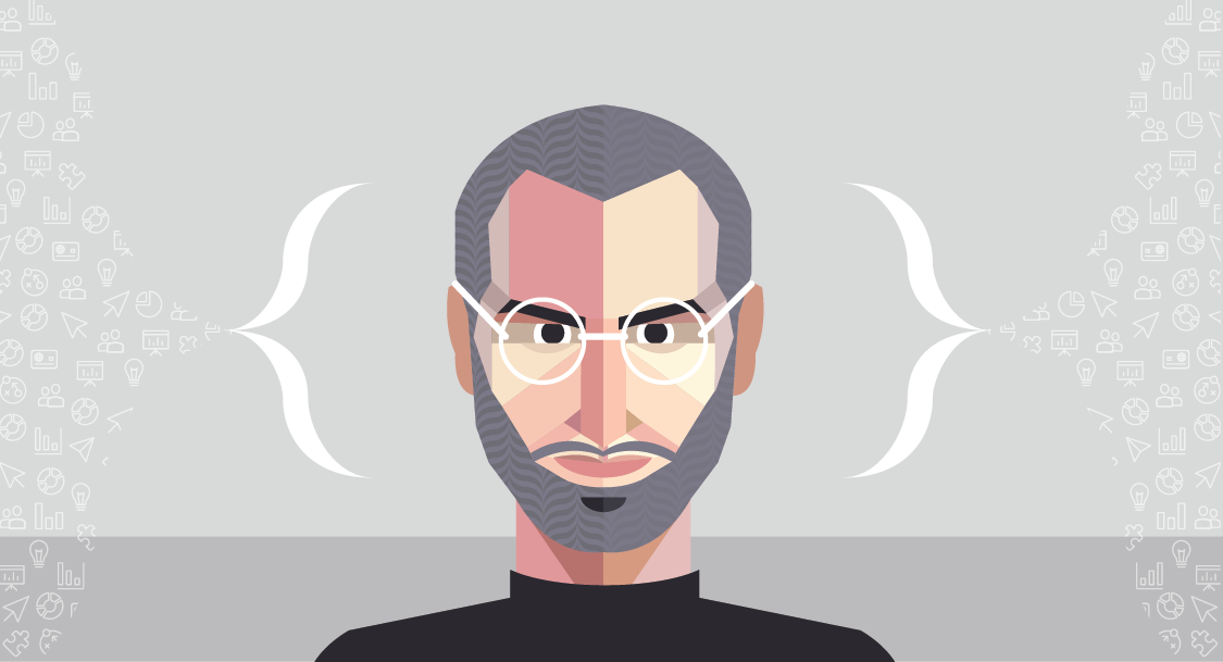 Steve Jobs presentation methods