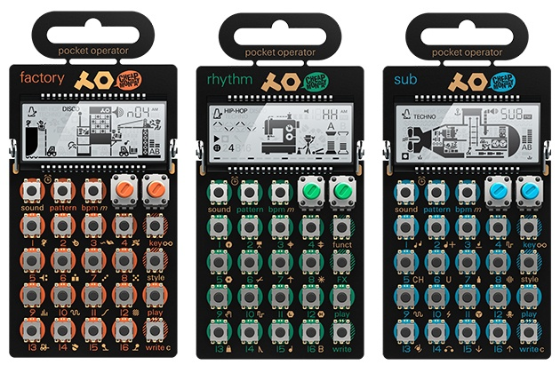 teenageengineeringPO Pocket Synthesizer