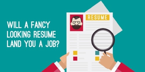 Will a fancy resume design really land you a job?